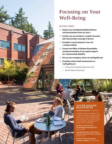 Page 16 of Focus on Your Well-Being