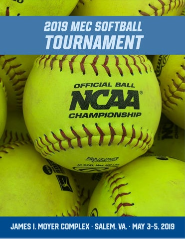 2019 MEC Softball Tournament Program by Mountain East Conference - issuu