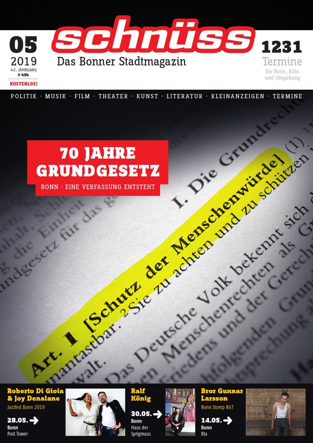 Schnüss 201911 by Schnüss Das Bonner Stadtmagazin issuu