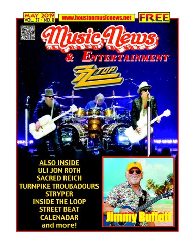 Texas Music News & Entertainment - May 2019 by Texas Music