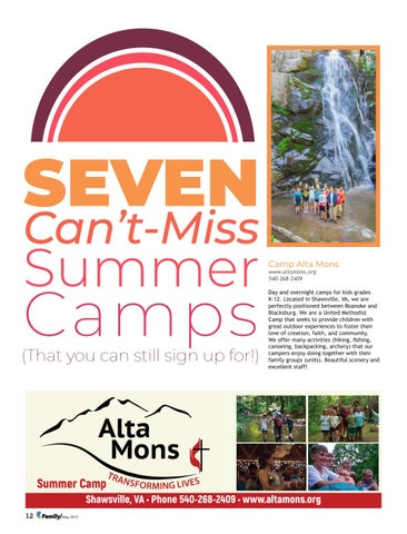 Page 12 of Seven Can't Miss Summer Camps (That you can still sign up for!)