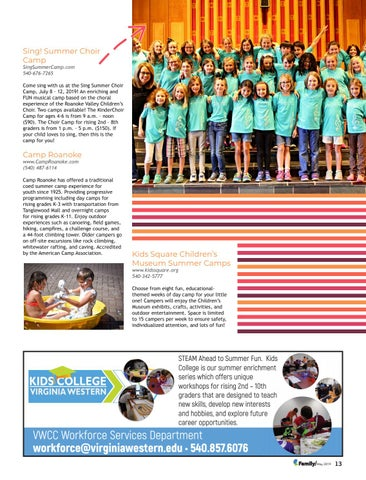 Page 13 of Seven Can't Miss Summer Camps (That you can still sign up for!)