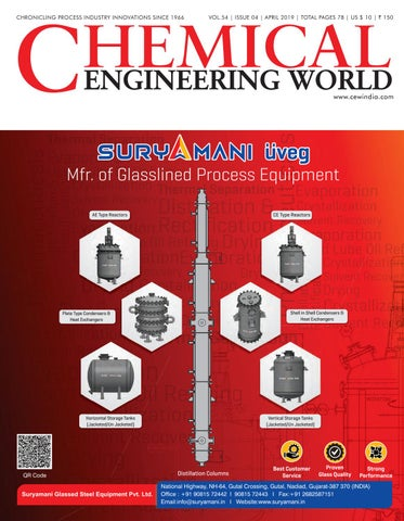 Chemical Engineering World by Chemical Engineering World - issuu