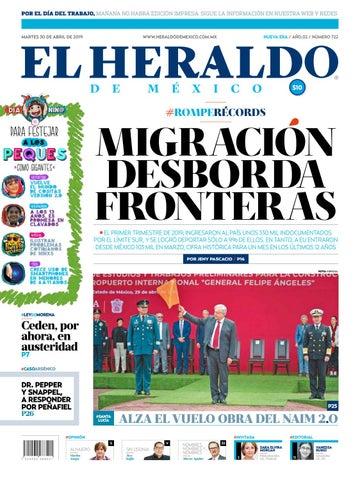 5db126c80 Martes 30 de abril de 2019 by El Heraldo de México - issuu