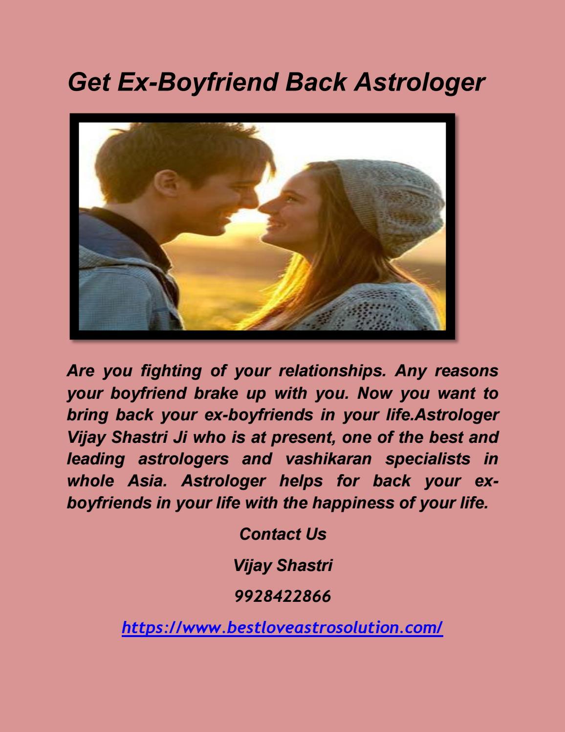 Get Ex Boyfriend Back Astrologer by ambaji jyotish - issuu
