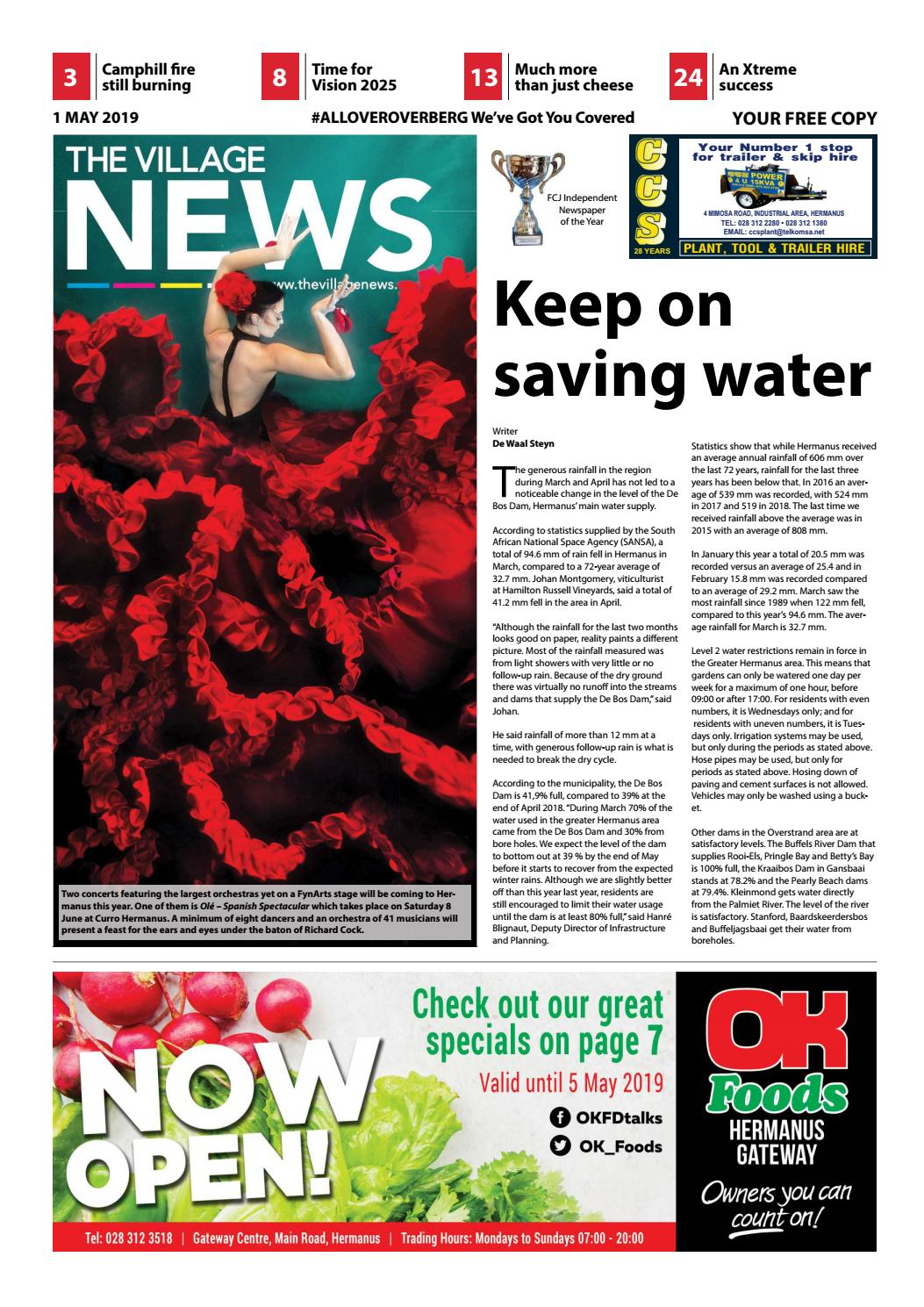 The Village NEWS 01 May - 08 May 2019 by The Village NEWS