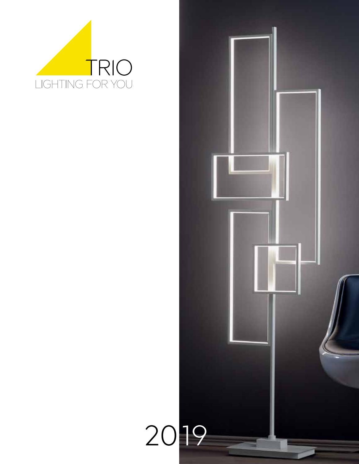 Trio Lighting Vintage L/ámpara de pie E14 20 W 140 cm Cobre