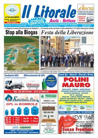 separation shoes b7f4c 97977 IL LITORALE - Anno XIX - N. 9 - 1 15 Maggio 2019 by Il Pontino Il ...