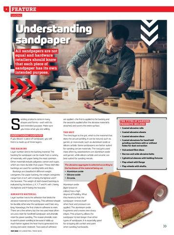 Page 8 of Understanding sandpaper