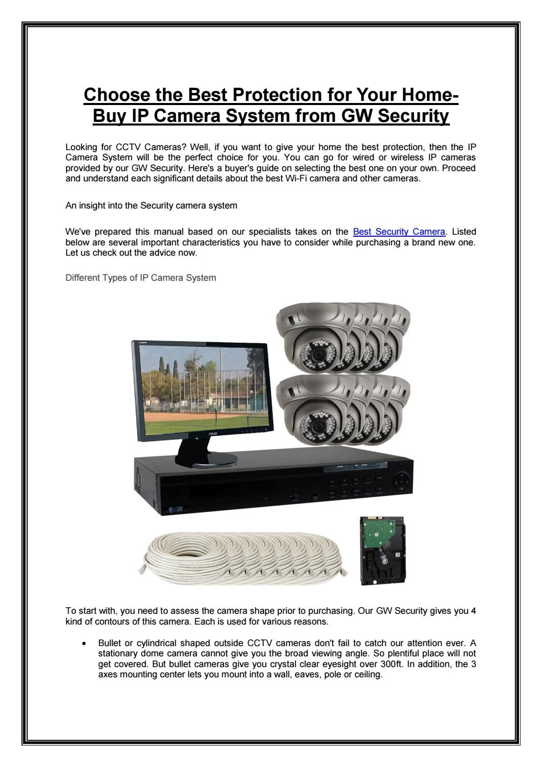 IP Camera System | Security Camera System | Best Security