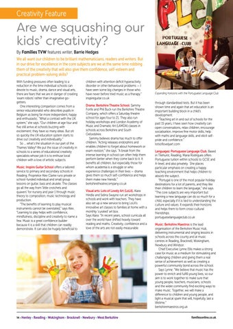 Page 14 of Are we squashing our kids' creativity?