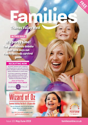 530b3470 Families Thames Valley West May June 2019 issue 101 by Families ...