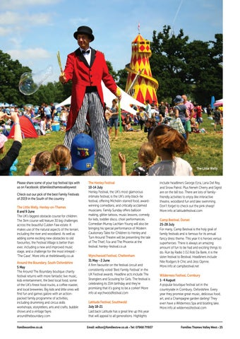 Page 25 of Family Festival - The Survival Guide