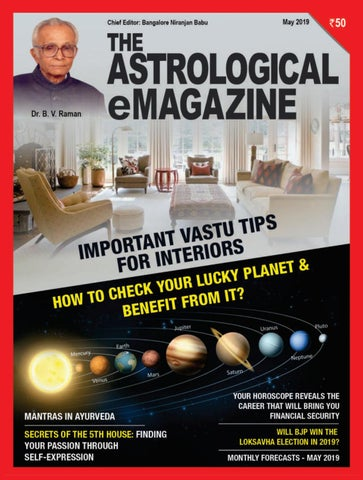 The Astrological Emagazine May 2019 Preview By Bangalore Niranjan Babu Issuu Read your free monthly horoscope on astrology.com. bangalore niranjan babu
