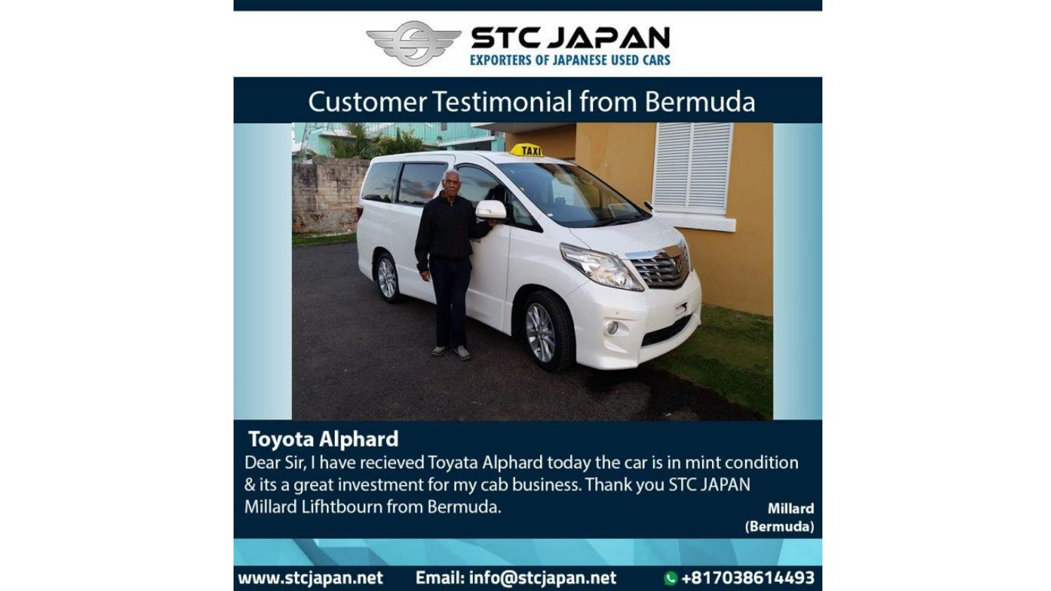 Japanese Used Car Bermuda Review for STC Japan by STC JAPAN