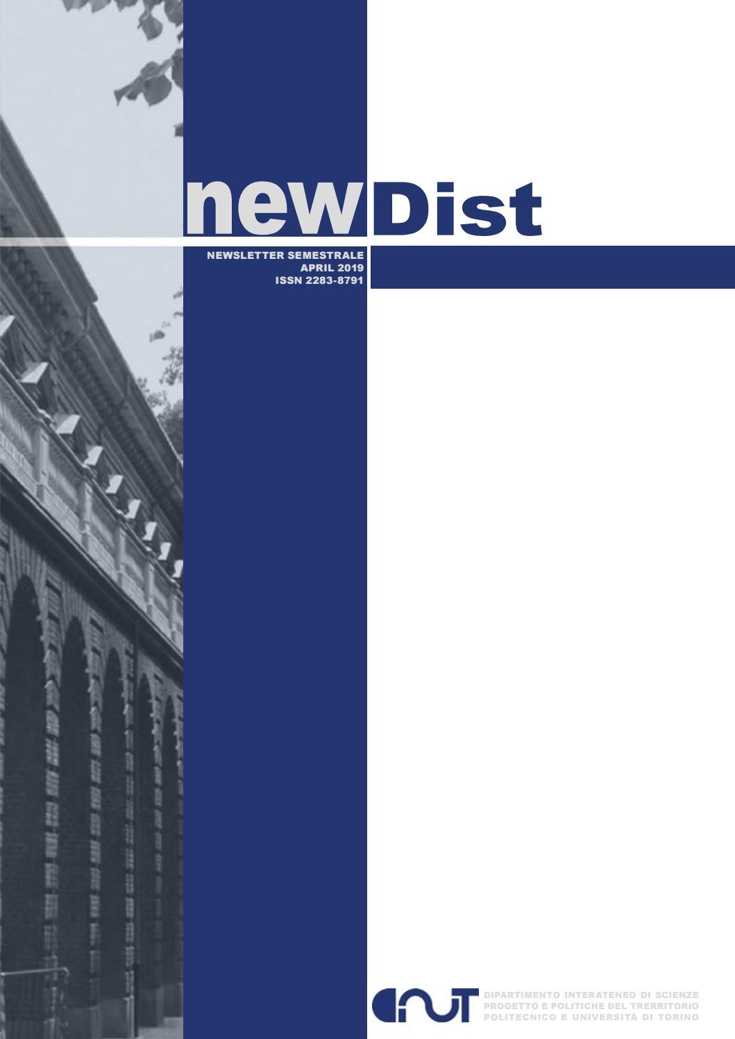 Studio Parisi E Associati Milano newdist april 2019 by dist politecnico di torino - issuu
