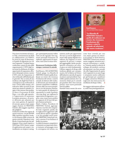 Page 61 of Eventi - PRINTING United
