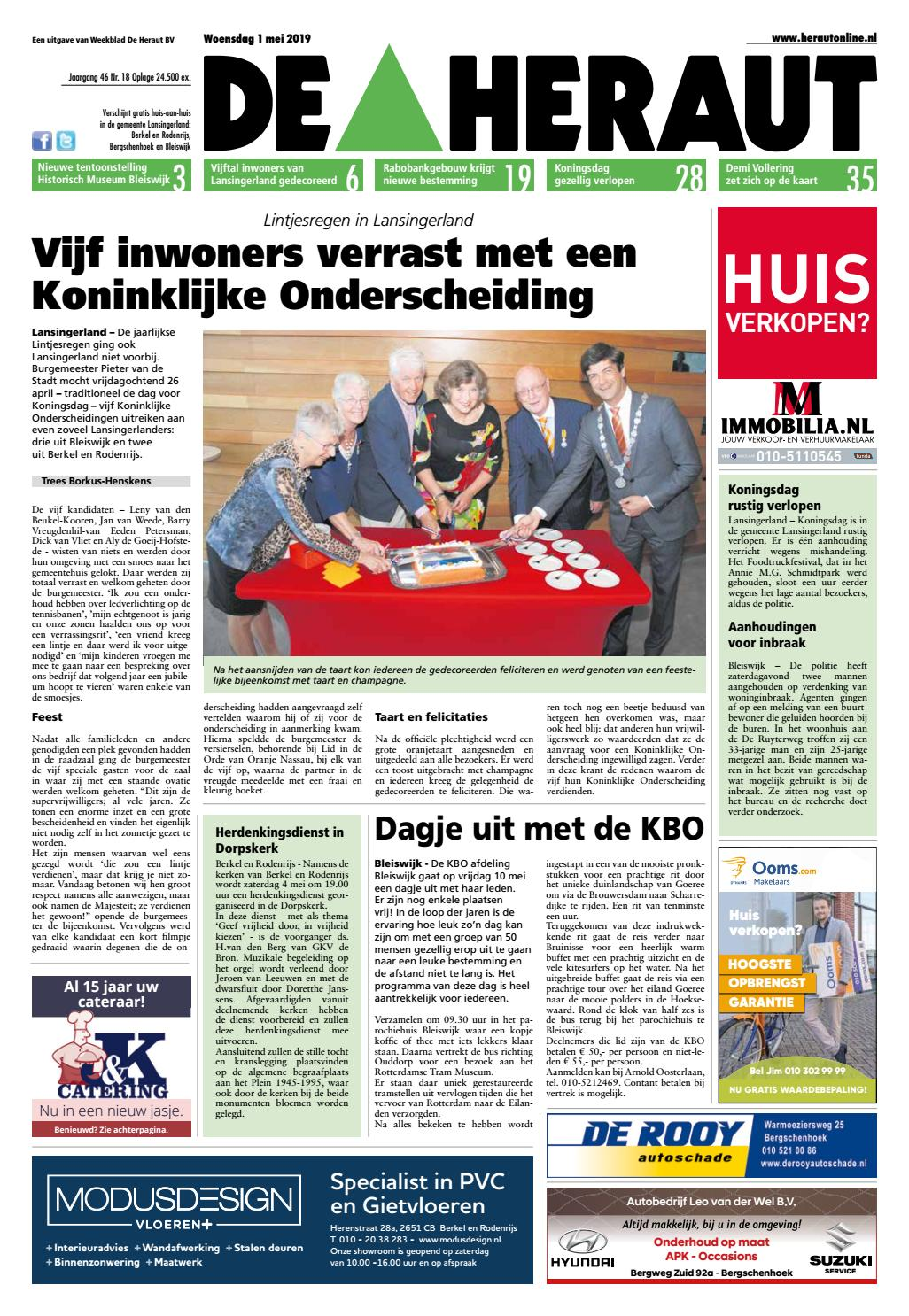 e612d36a7828cd De Heraut week 18 2019 by Nieuwsblad De Heraut - issuu