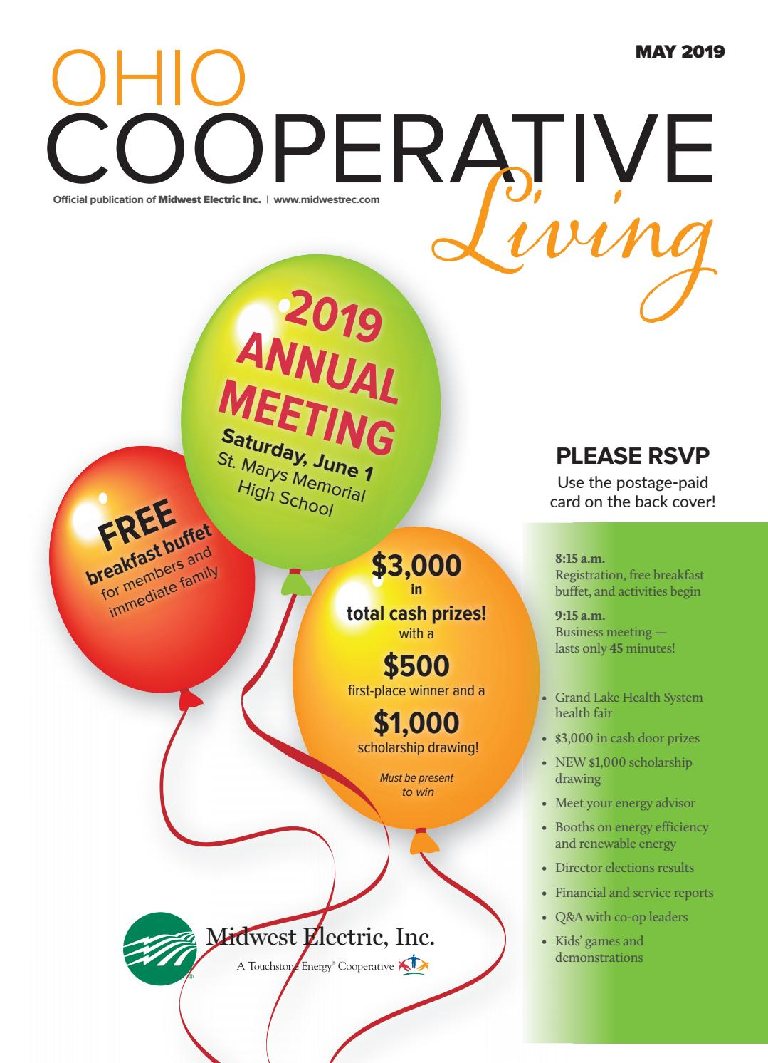 Ohio Cooperative Living - May 2019 - Midwest by Ohio Cooperative