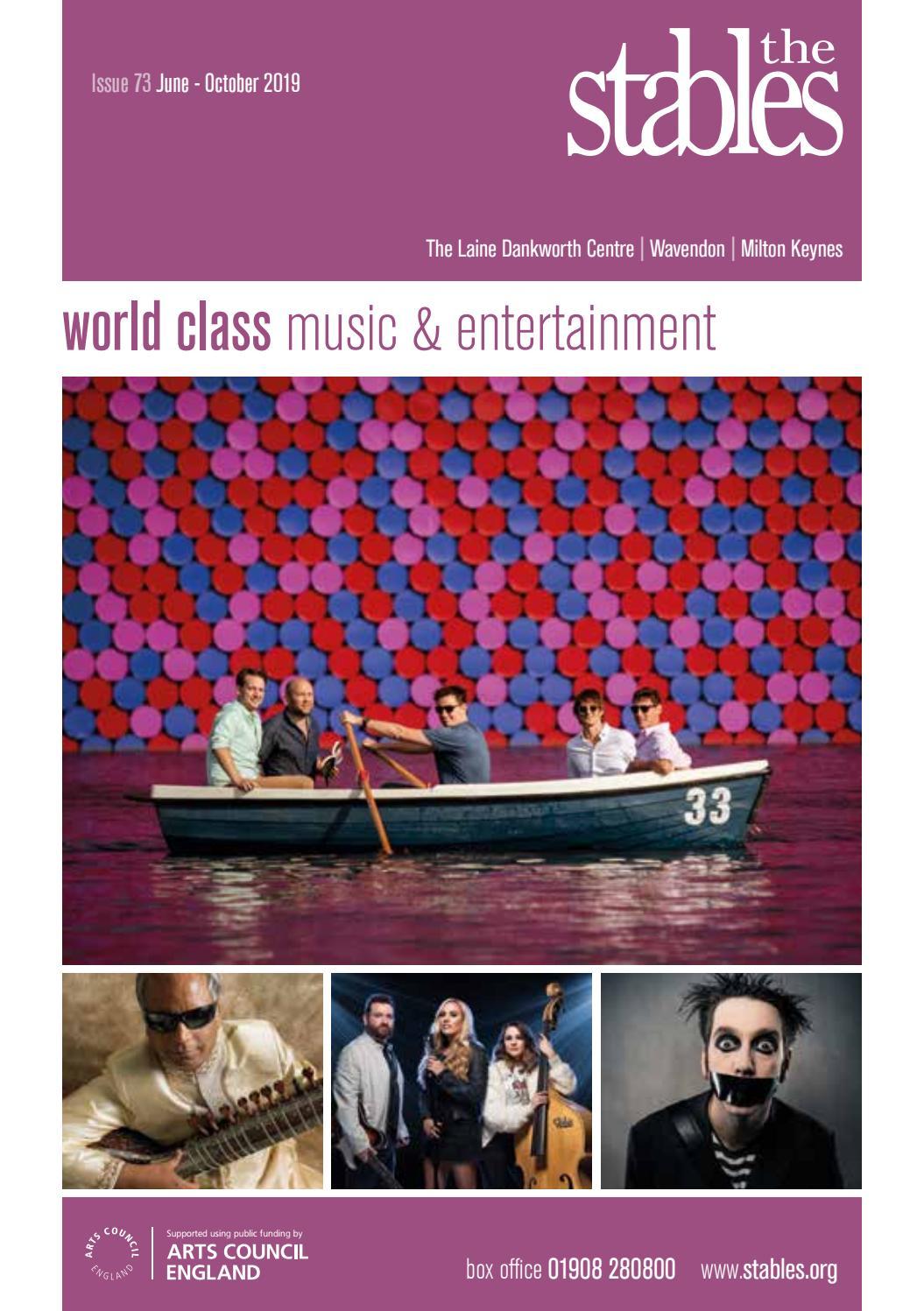 The Stables brochure June - October 2019 by Matthew Sanders