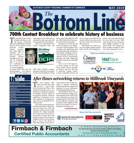 eec508d465672 The Bottom Line - May 2019 by Rich Kleban - issuu