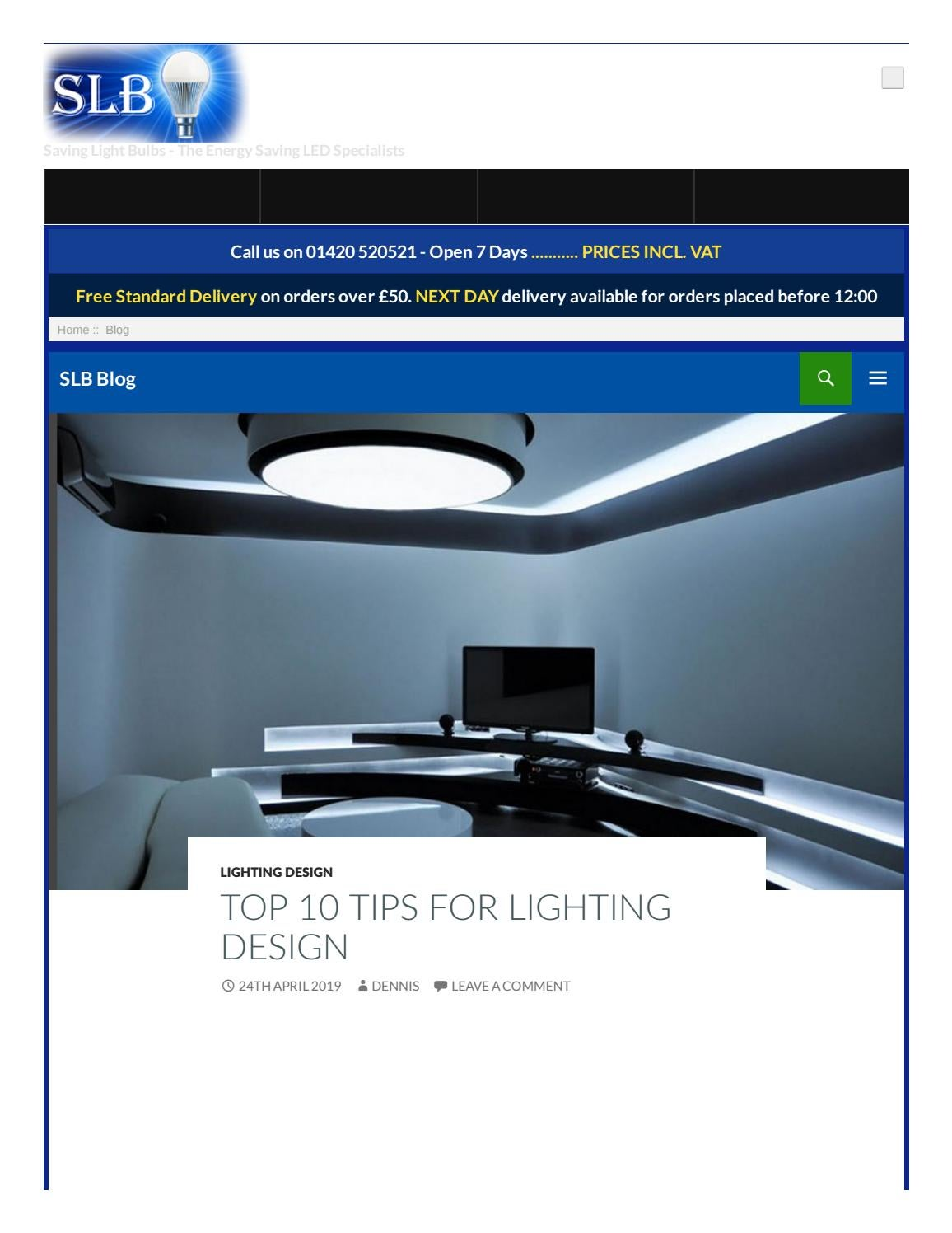 Lighting Design By Saving Light Bulbs