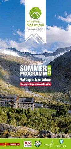 Zillertal Alps Nature Park Summer Programme By Ferienregion