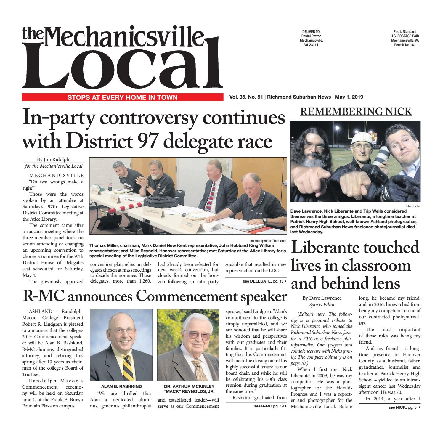 05/01/19 by The Mechanicsville Local - issuu