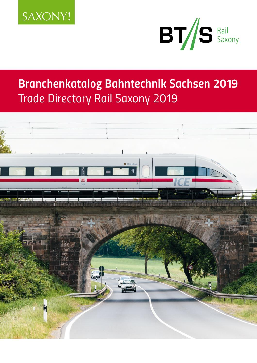 Bts Branchenkatalog Bahntechnik In Sachsen 2019 Trade