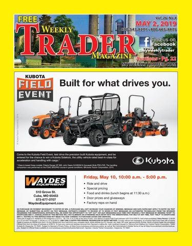 dfab13a413c5 Weekly Trader May 2, 2019 by Weekly Trader - issuu