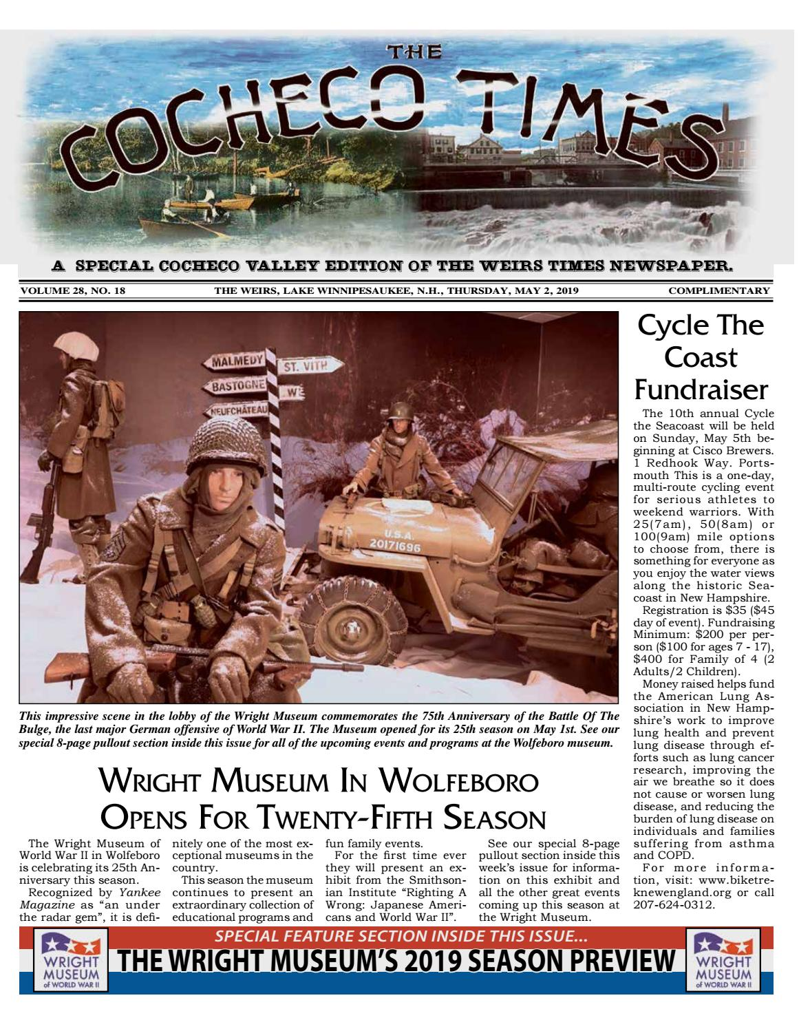 05/02/19 Cocheco Times by The Weirs Publishing Company - issuu