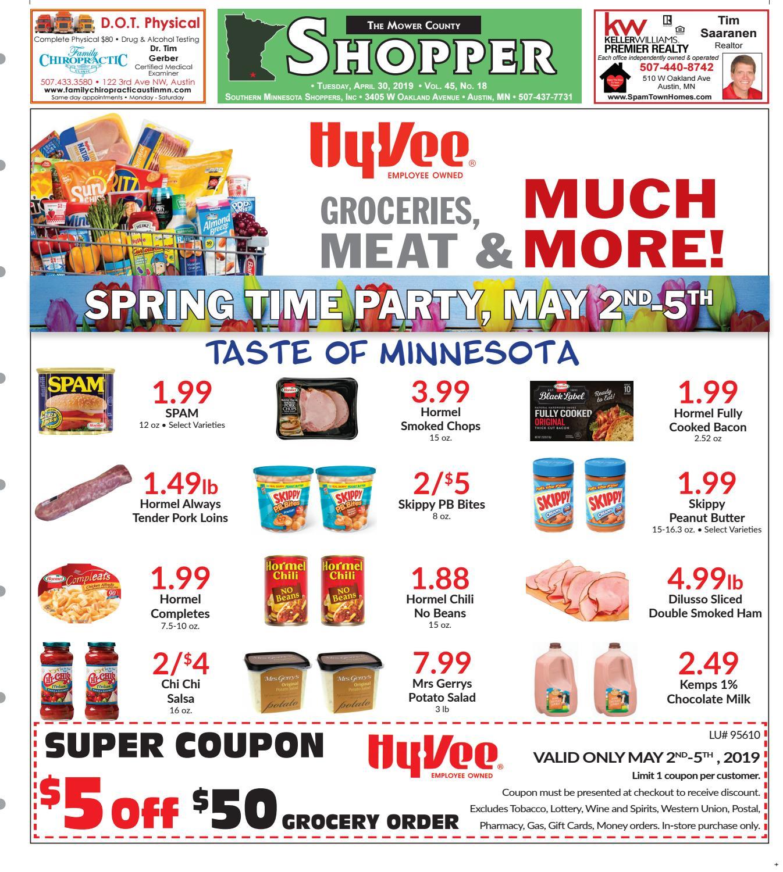 MCS 04 30 19 by Mower County Shopper - issuu
