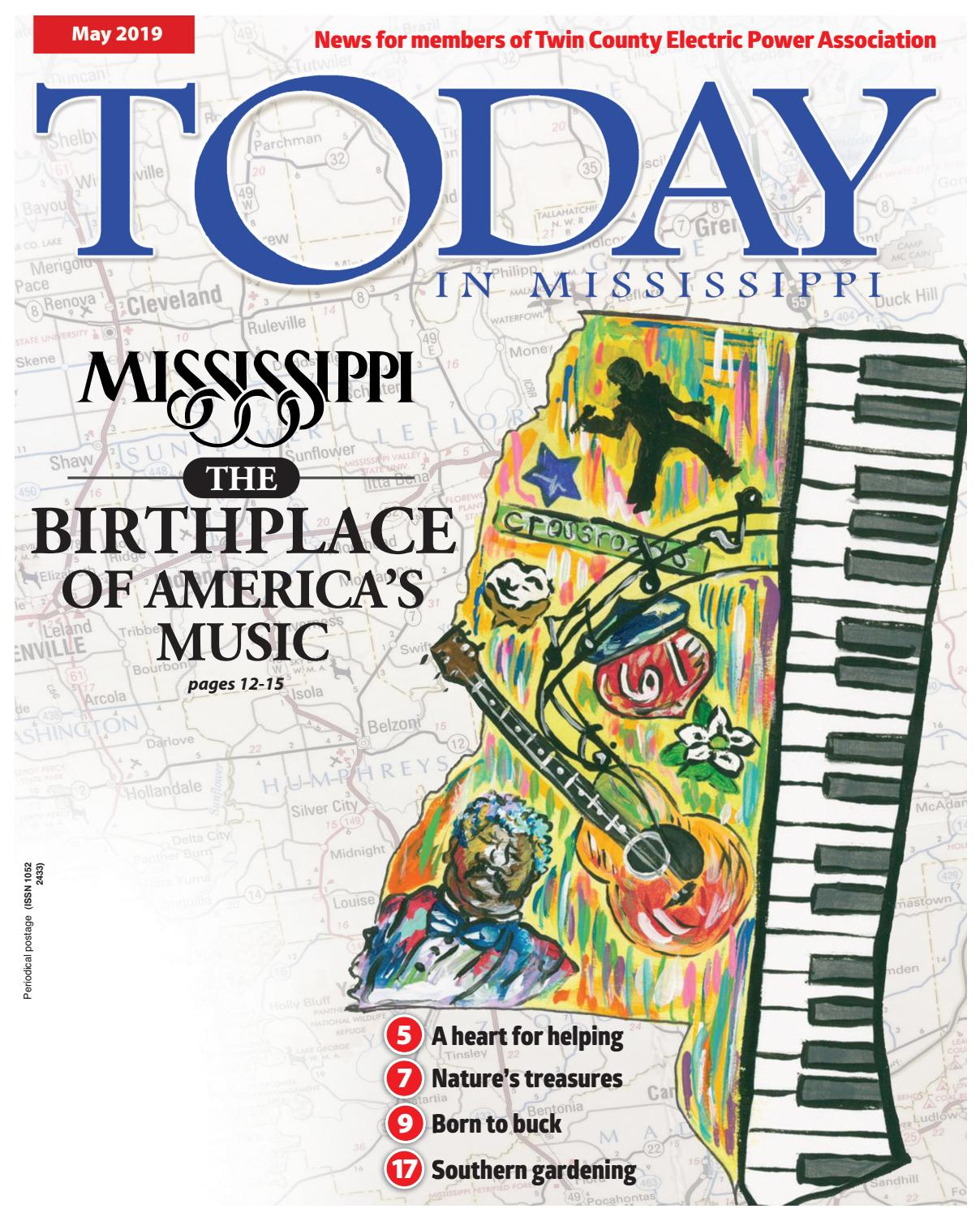 Today in Mississippi May 2019 Twin County by American