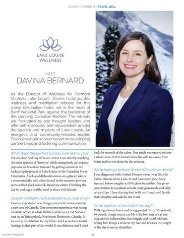 Page 54 of MEET: Davina Bernard
