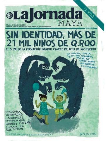 609b5aa8f La Jornada Maya · martes 30 de abril de 2019 by La Jornada Maya - issuu