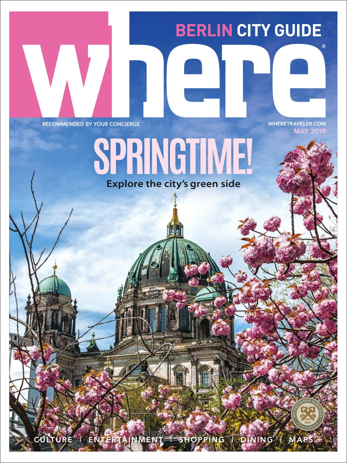 Where Magazine Berlin May 2019 by Morris Media Network issuu