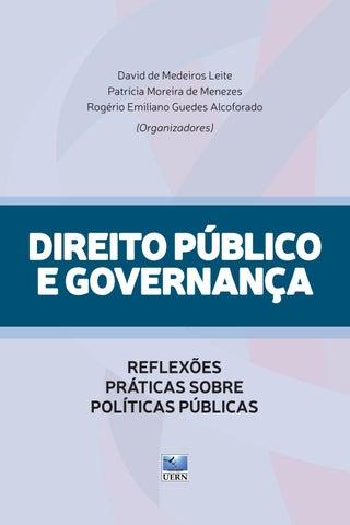 afebac22a Direito Público e Governança: reflexões práticas sobre políticas ...
