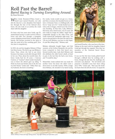 Page 27 of Roll Past the Barrel! Barrel Racing is Turning Everything Around.