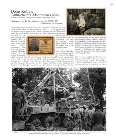 Page 53 of Dean Keller:  Connecticut's Monuments Man