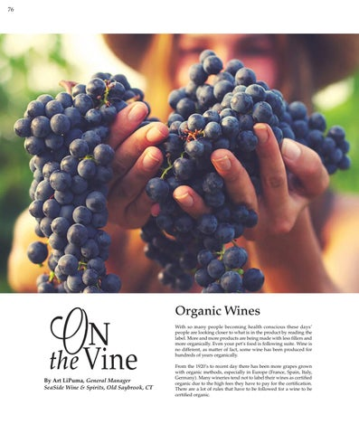 Page 76 of Organic Wines - On the Vine.