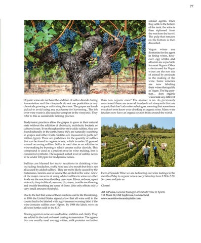 Page 77 of Organic Wines - On the Vine.