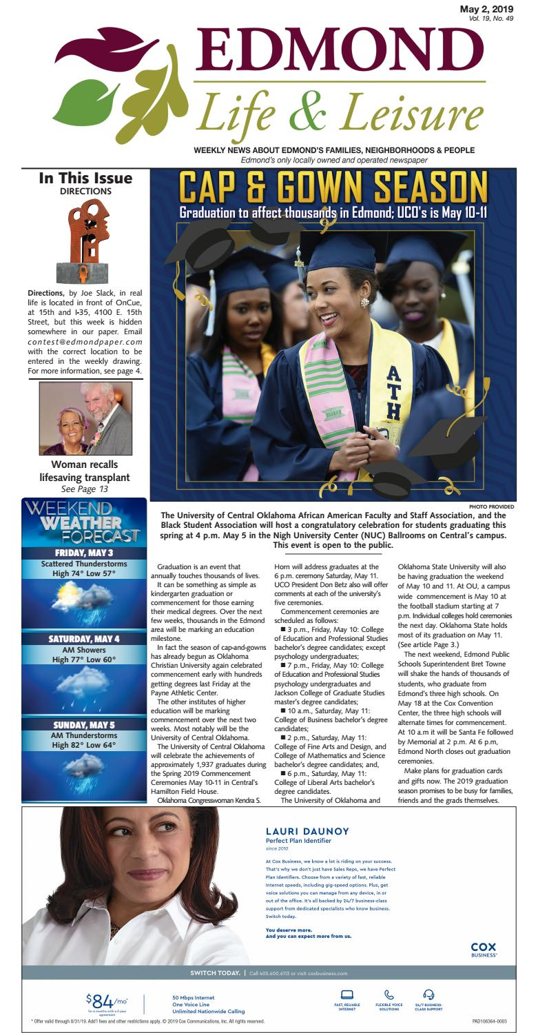 May 2, 2019 by Edmond Life and Leisure - issuu