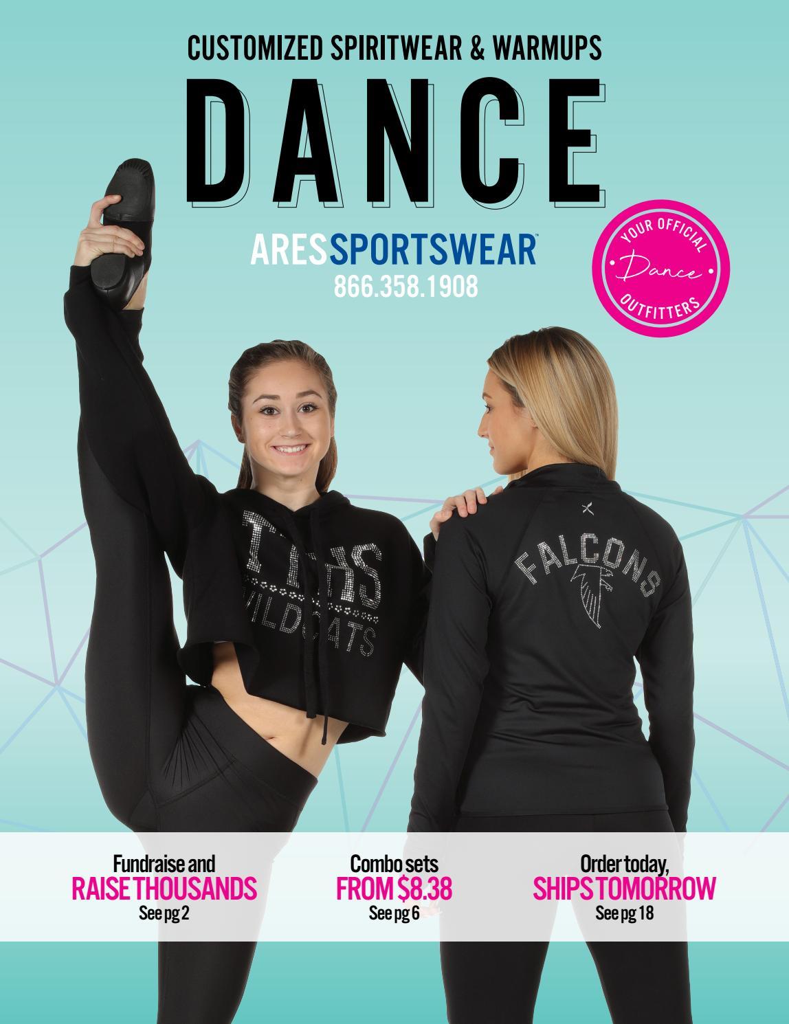 2a98e7954 2019 Ares Sportswear Dance Catalog by Ares Sportswear - issuu