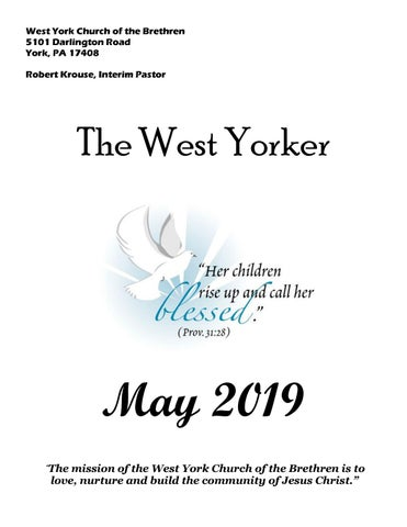 West York Church Newsletter by West York Church of the