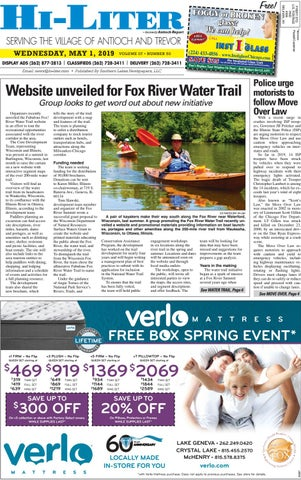 Tragic Fishing Accident In Lake Geneva >> Illinois Hiliter For 5 1 2019 By Southern Lakes Newspapers Rock