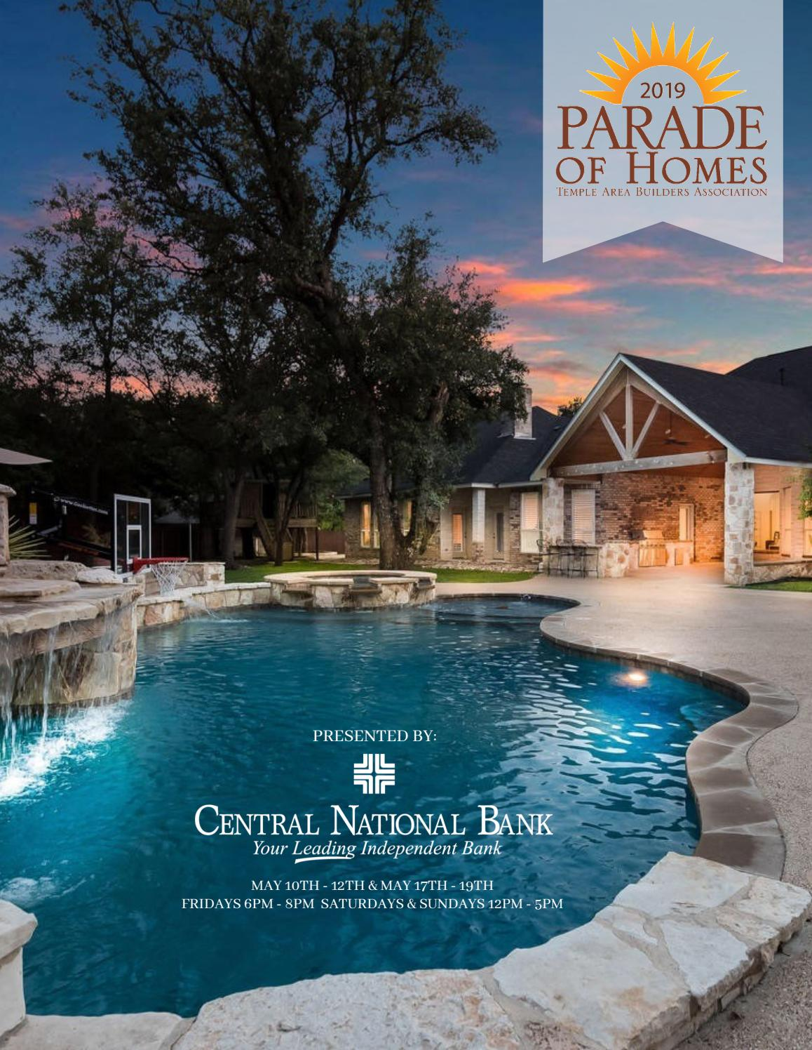 2019 Parade Of Homes By Temple Daily