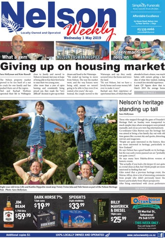 5c155806793a 1 May 2019 by Nelson Weekly - issuu