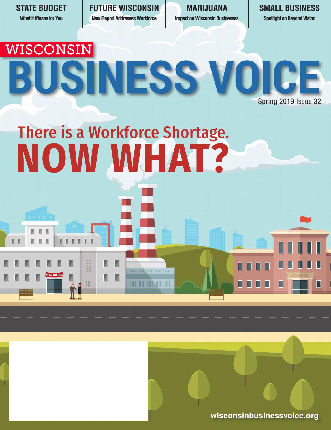 Why Blue Eyed Wisconsinites Tended To >> Wisconsin Business Voice Spring 2019 By Wisconsin Manufacturers