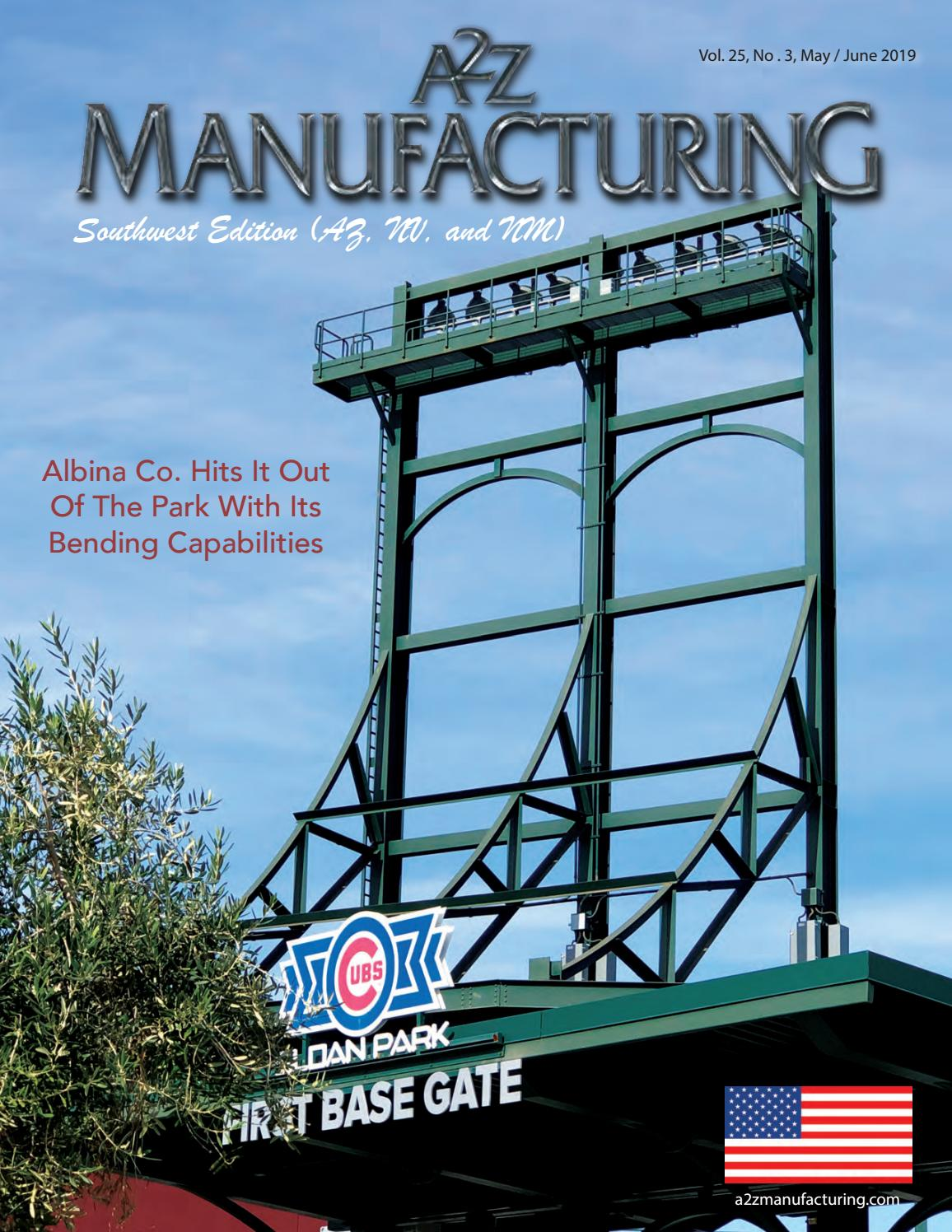 6fa4a572b3 A2Z Manufacturing SW Edition May 2019 by A2Z Manufacturing Magazines - issuu