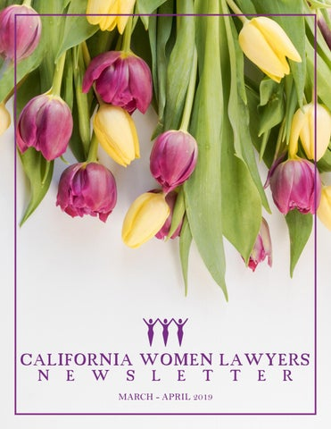 CWL Newsletter March - April 2019 by California Women